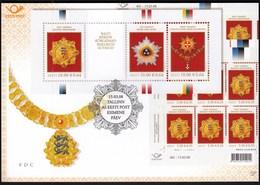 Estonia 2008 / Highest State Awards Of The Baltic Countries / Prospectus, Leaflet, Brochure, Presentation Card - Estonia