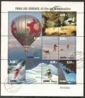 2005-ED. 4193 H.B.-DEPORTE.AL FILO DE LO IMPOSIBLE-USADO- - Blocs & Hojas