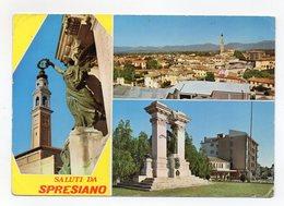 Spresiano (Treviso) - Saluti Da - Cartolina Multipnoramica - Viaggiata Nel 1980 - (FDC15169) - Treviso
