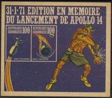 Gabon - 1971 - N°Mi. Bloc 19 - Apollo XIV - Neuf Luxe ** / MNH / Postfrisch - Afrique