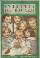 "3377 ""ENCICLOPEDIA DEI RAGAZZI-DISPENSA 23a - 30 APRILE 1923-CASA ED. COGLIATI"" VARIE PUBBLICITA' ANNI '20 - ORIGINALE - Encyclopédies"