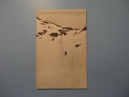 La Dernière Montée Près De L'Hospice Du Grand St. Bernard En Hiver 1914 (5114) - VS Valais