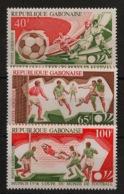 Gabon - 1974 - Poste Aérienne PA N°Yv. 152 à 154 - Football World Cup / Germany - Neuf Luxe ** / MNH / Postfrisch - Coppa Del Mondo
