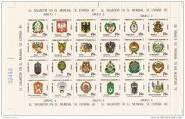 El Salvador Nº A497 Al A545 - Copa Mundial