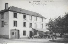 HERBEUMONT ..-- Hôtel Des Ardennes . Attelage . - Herbeumont