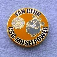 Football Pins/badges  - Rare -  CS GREVENMACHER  (Fan Club) - Luxembourg. - Football