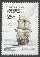 Australian Antarctic Territory. 1979 Ships. 25c Used. SG 45 - Territoire Antarctique Australien (AAT)