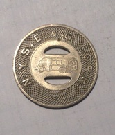 TOKEN GETTONE JETON TRANSIT STATI UNITI N.Y.S.E.&G.CORP. ELMIRA - Monétaires/De Nécessité