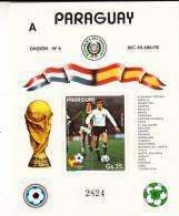 Paraguay HB Michel 372 A - Copa Mundial