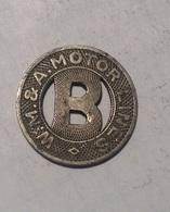 TOKEN GETTONE JETON TRANSIT STATI UNITI W.M.& A. MOTOR LINES DISTRETTO COLORADO - Monétaires/De Nécessité