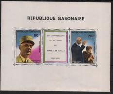 Gabon - 1980 - Bloc Feuillet BF N°Yv. 37 - De Gaulle - Neuf Luxe ** / MNH / Postfrisch - De Gaulle (General)