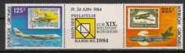 Gabon - 1984 - N°Yv. 552A - Hamburg 84 / Lufthansa - Neuf Luxe ** / MNH / Postfrisch - Avions