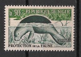 Niger - 1960 - N°Yv. 96A - Lamantin / Dugong / Manatee - Neuf Luxe ** / MNH / Postfrisch - Mammifères Marins