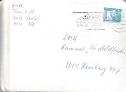 H 181) DDR 1990 MWSt HALLE: Gastspiel Zirkus BUSCH - Cirque