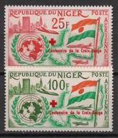 Niger - 1963 - Poste Aérienne PA N°Yv. 28 à 29 - Admission à L'ONU / UNO / Croix Rouge - Neuf Luxe ** / MNH / Postfrisch - Croix-Rouge