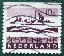 10 Ct Combinatie Booklet Stamp NVPH 794bG (Mi 800 Z Y Do) 1972 Used Gebruikt Oblitere NEDERLAND / NIEDERLANDE - Heftchen Und Rollen