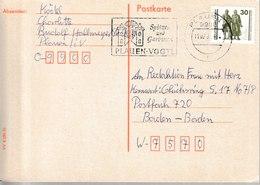 H 180) DDR 1990 MWSt PLAUEN Vogtland: Spitzen Und Gardinen - Autres