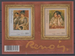 FRANCE 2009 ART PIERRE AUGUSTE RENOIR S/SHEET - Impressionisme