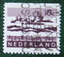 10 Ct Combinatie Booklet Stamp NVPH 794G (Mi 800 X X Do) 1966 Used Gebruikt Oblitere NEDERLAND / NIEDERLANDE - Heftchen Und Rollen