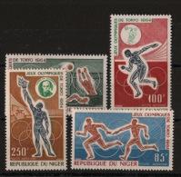 Niger - 1964 - Poste Aérienne N°Yv. 45 à 48 - Olympics / Tokyo 64 - Neuf Luxe ** / MNH / Postfrisch - Ete 1964: Tokyo