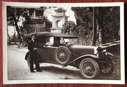 Carte Photo D'une Automobile De Luxe. Asie. - Voitures De Tourisme