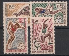 Niger - 1965 - N°Yv. 165 à 168 - Jeux Africains / Sport - Neuf Luxe ** / MNH / Postfrisch - Non Classés