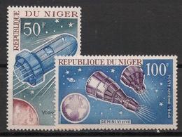 Niger - 1966 - Poste Aérienne PA N°Yv. 64 Et 65 - Conquète De L'espace / Space Conquest - Neuf Luxe ** / MNH - Afrique
