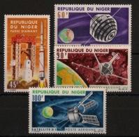 Niger - 1966 - Poste Aérienne N°Yv. 58 à 61 - Satellites - Neuf Luxe ** / MNH / Postfrisch - Afrique