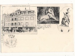 Territoire De Belfort Grand Hôtel De L'ancienne Poste Belfort - Belfort – Le Lion