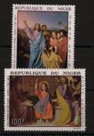 Niger - 1967 - Poste Aérienne PA N°Yv. 76 à 77 - Ingres - Neuf Luxe ** / MNH / Postfrisch - Arts