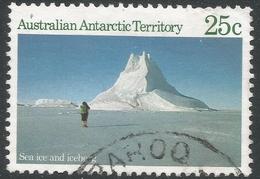 Australian Antarctic Territory. 1984 Antarctic Scenes. 25c Used. SG 68 - Australian Antarctic Territory (AAT)