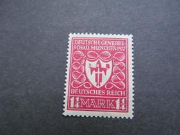 DR Nr. 199a, 1922, Gewerbeschau, Postfrisch/MNH/**, BPP Geprüft, BS - Unused Stamps