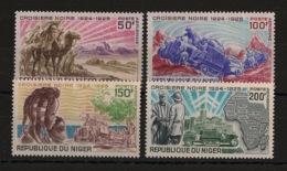 Niger - 1969 - Poste Aérienne PA N°Yv. 115 à 118 - Croisière Noire - Neuf Luxe ** / MNH / Postfrisch - Automobile