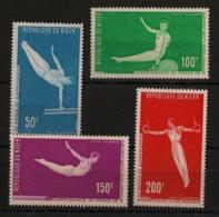 Niger - 1970 - Poste Aérienne PA N°Yv. 137 à 140 - Gymnastique - Neuf Luxe ** / MNH / Postfrisch - Gymnastique