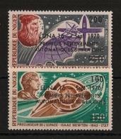 Niger - 1970 - Poste Aérienne PA N°Yv. 141 à 142 - Luna 16 - Neuf Luxe ** / MNH / Postfrisch - Afrique