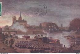 OILETTE  PARIS Les Ponts   Série 702  N°18  ........... Pont De L'Archevêché  ....... Un Mot à La Poste - Tuck, Raphael