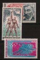 Niger - 1971 - Poste Aérienne PA N°Yv. 159 à 161 - Olympics - Neuf Luxe ** / MNH / Postfrisch - Juegos Olímpicos