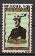 Niger - 1971 - Poste Aérienne PA N°Yv. 163 - De Gaulle - Neuf Luxe ** / MNH / Postfrisch - De Gaulle (Général)