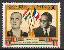 Niger - 1972 - Poste Aérienne PA N°Yv. 173 - Pompidou - Neuf Luxe ** / MNH / Postfrisch - Célébrités
