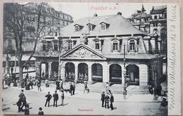Germany Frankfurt A M Hauptwache 1902 - Germania