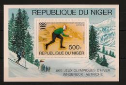 Niger - 1976 - Bloc Feuillet BF N°Yv. 13 - Olympics / Innsbruck 76 - Neuf Luxe ** / MNH / Postfrisch - Hiver 1976: Innsbruck