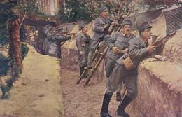 AK Österr. Schützengraben An Der Galizischen Front - Patriotika - 1. WK (40617) - War 1914-18