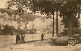 PROFONDEVILLE  -  Les Rochers. Animée, Oldtimer. - Profondeville
