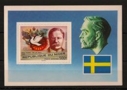 Niger - 1977 - Bloc Feuillet BF N°Yv. 18 - Nobel - Neuf Luxe ** / MNH / Postfrisch - Prix Nobel