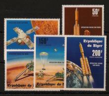 Niger - 1977 - N°Yv. 396 à 397 + PA 276 à 278 - Operation Viking - Neuf Luxe ** / MNH / Postfrisch - Afrique