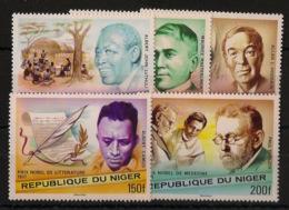 Niger - 1977 - N°Yv. 411 à 415 - Nobel Prizes - Neuf Luxe ** / MNH / Postfrisch - Prix Nobel