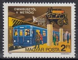 HUNGARY 3576,unused,trains - Trains