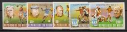 Niger - 1978 - N°Yv. 456 à 460 - Football World Cup - Non Dentelé / Imperf. - Neuf Luxe ** / MNH / Postfrisch - 1978 – Argentine