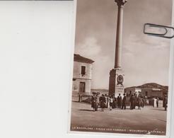 La Maddalena Sassari Piazza XXIII Febbraio Monumento A Garibaldi - Italia