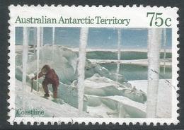 Australian Antarctic Territory. 1984 Antarctic Scenes. 75c Used. SG 74 - Australian Antarctic Territory (AAT)